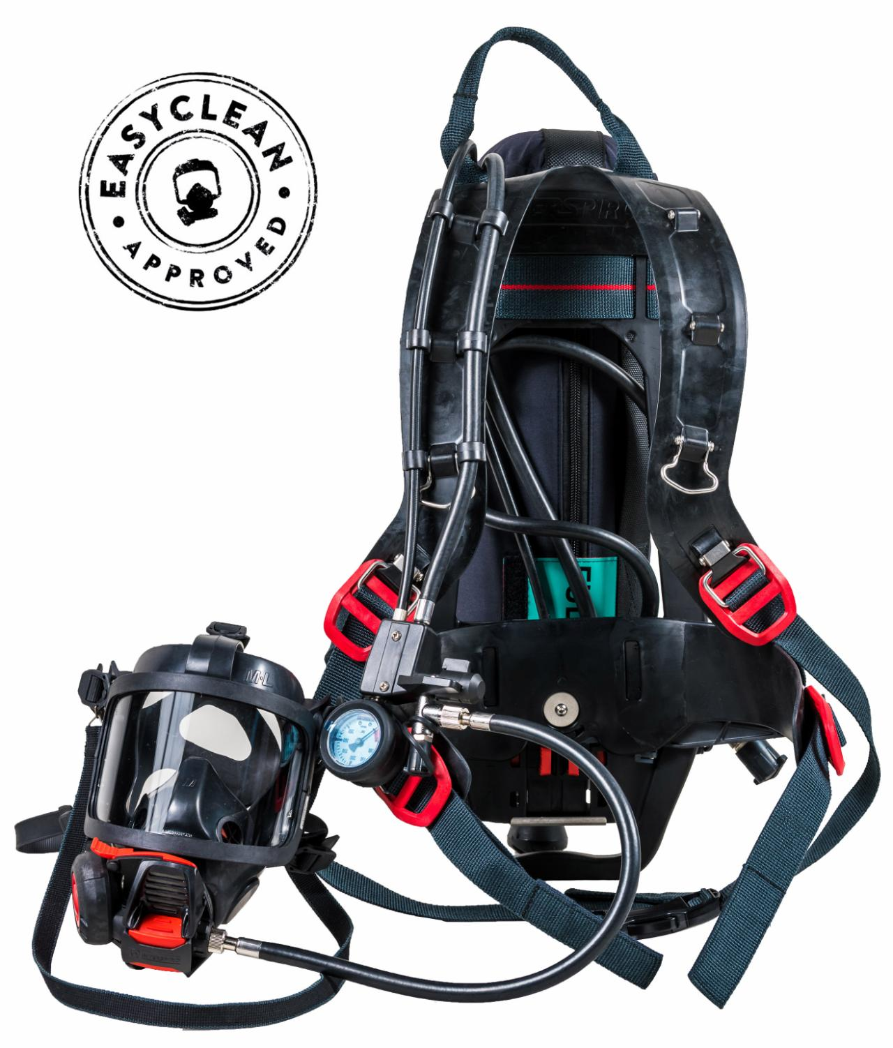 Product image - SCBA Incurve-R Single cylinder