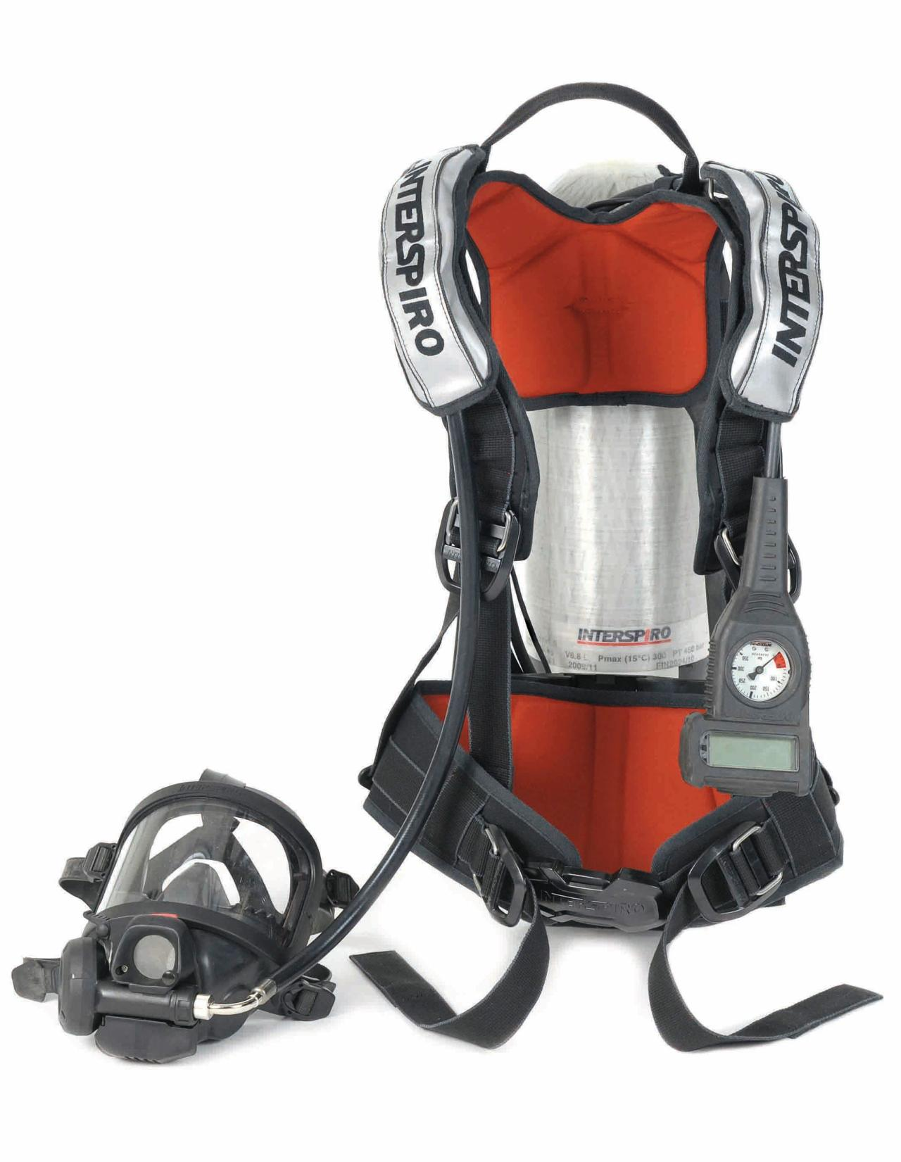 Product image - SCBA Spiroguide II