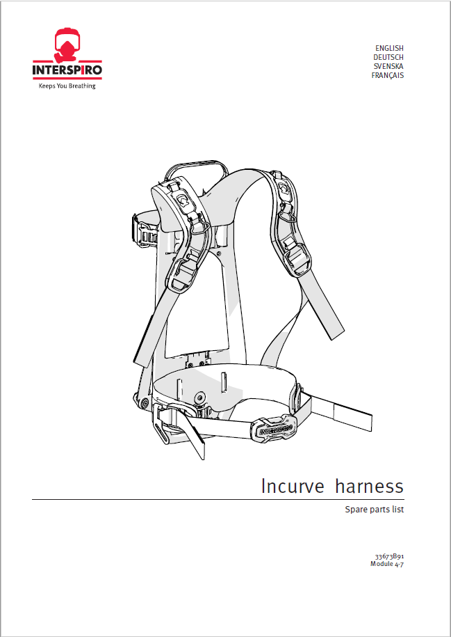 Firefighting - Module 4-7 - Spare parts & Service kits for Incurve Harness