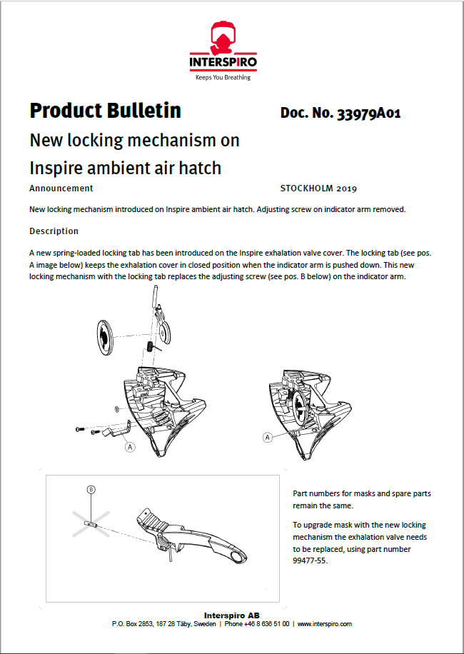 2019 - Product bulletin 33979