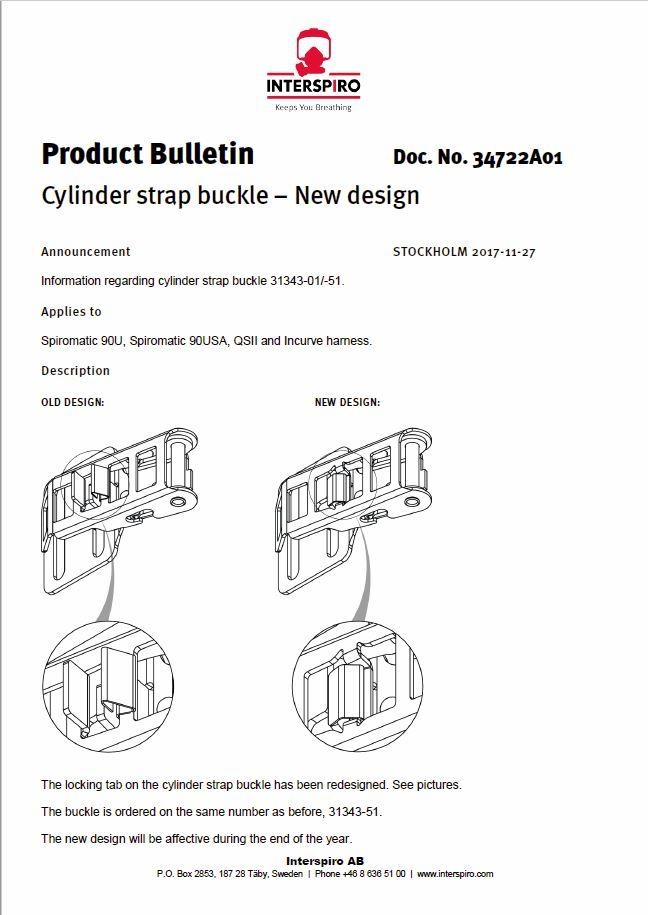 2017 - Product bulletin 34722