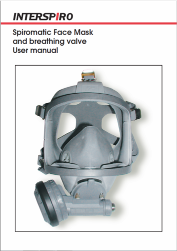 Firefighting user manual: 96784B - Spiromatic Face Mask