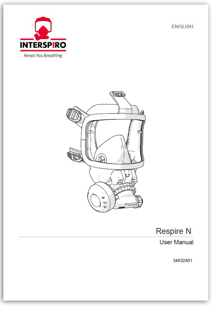 Firefighting user manual: 34832B - Respire ESA and PE